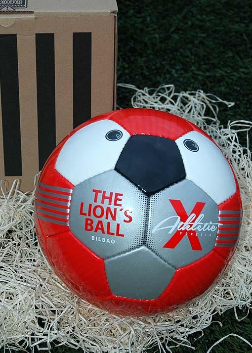 Balón rojo Athletic de Bilbao