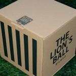 Caja Balón León del Athletic de Bilbao.