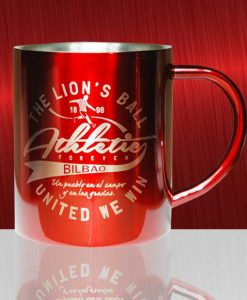 Taza de metal Athletic forever. United we win.