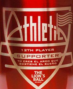 Taza de metal Athletic supporter.