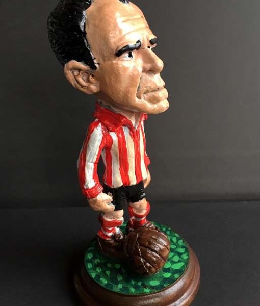 Figura del jugador de athletic de Bilbao zarra
