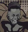 Williams superheroe, el alter ego de black panther. Athletic de Bilbao. Pantera negra.