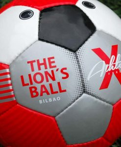 Balón rojo del Athletic de Bilbao
