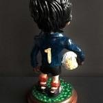 Figura de Iribar, la mayor leyenda del Athletic. El mejor portero de la historia.