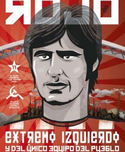 Txetxu Rojo, extremo izquierdo del Athletic (el único equipo del pueblo)