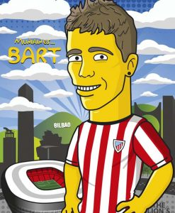 Iker Mniain Bart Simpson
