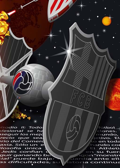 Star Football Wars Athletic vs Barcelona